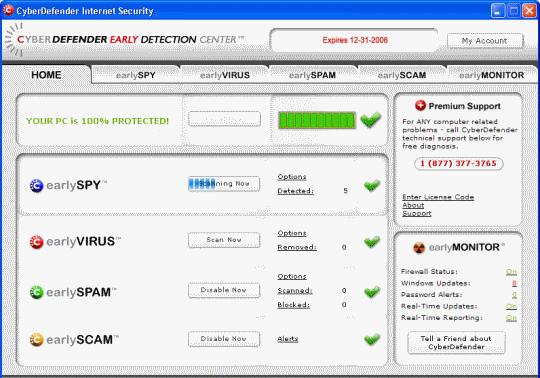 antivirus cyberdefender