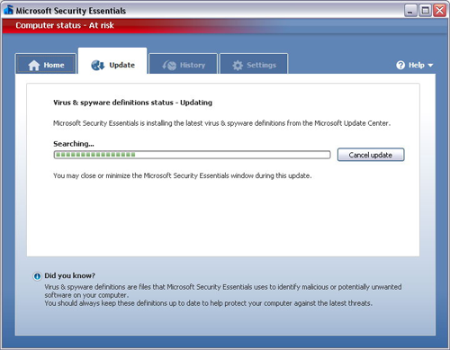 Free Microsoft Security Essentials