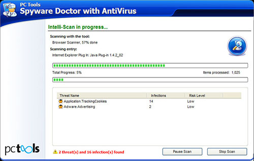 Spyware Doctor with Antivirus 2010